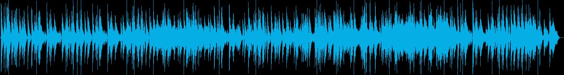 日曜の昼間に聞きたいまったりしたバラードの再生済みの波形