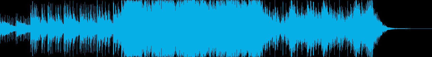 水属性のドラマチックなハイブリッドSEの再生済みの波形