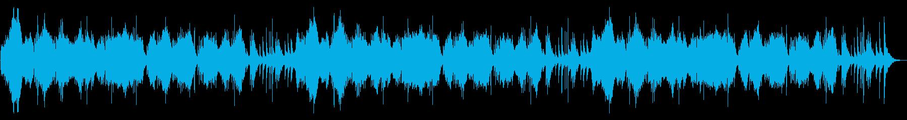 Japanese New Year /Shakuhachi and Koto's reproduced waveform