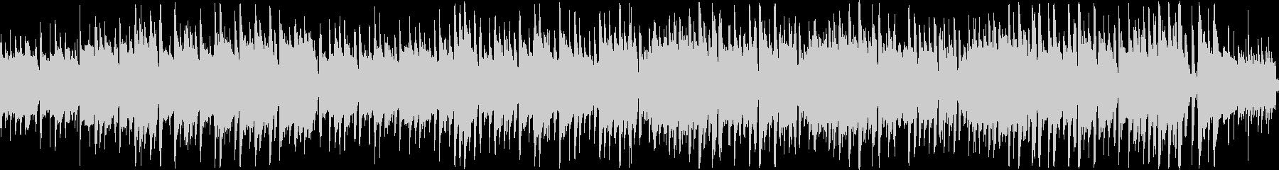 アコギとピアノが香るジャズラウンジの未再生の波形
