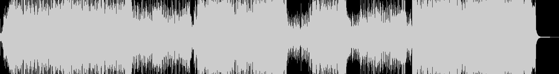 琴・尺八・全速力な演歌調ロック 長尺の未再生の波形