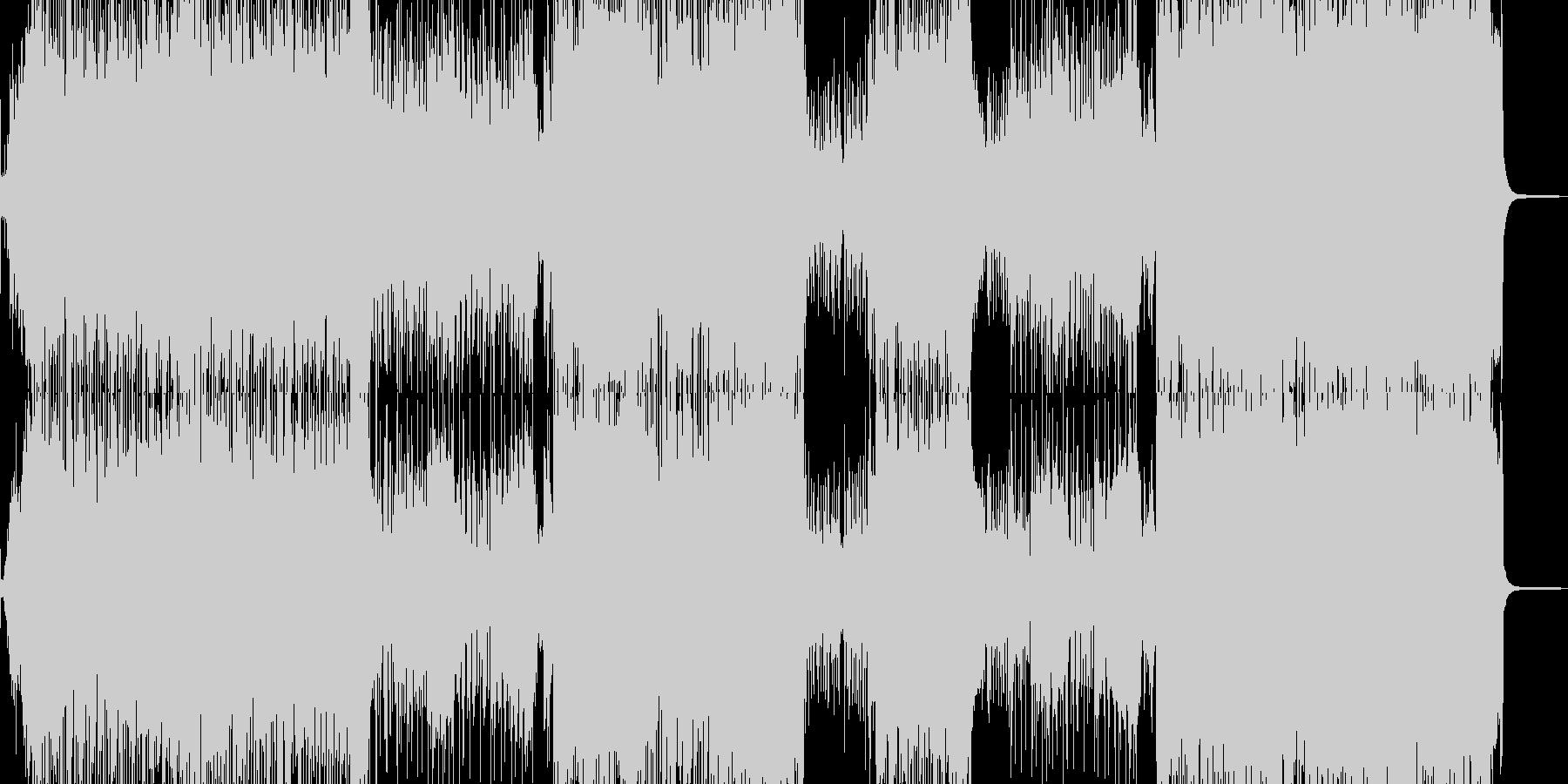 琴・尺八・全速力な演歌調ロックの未再生の波形