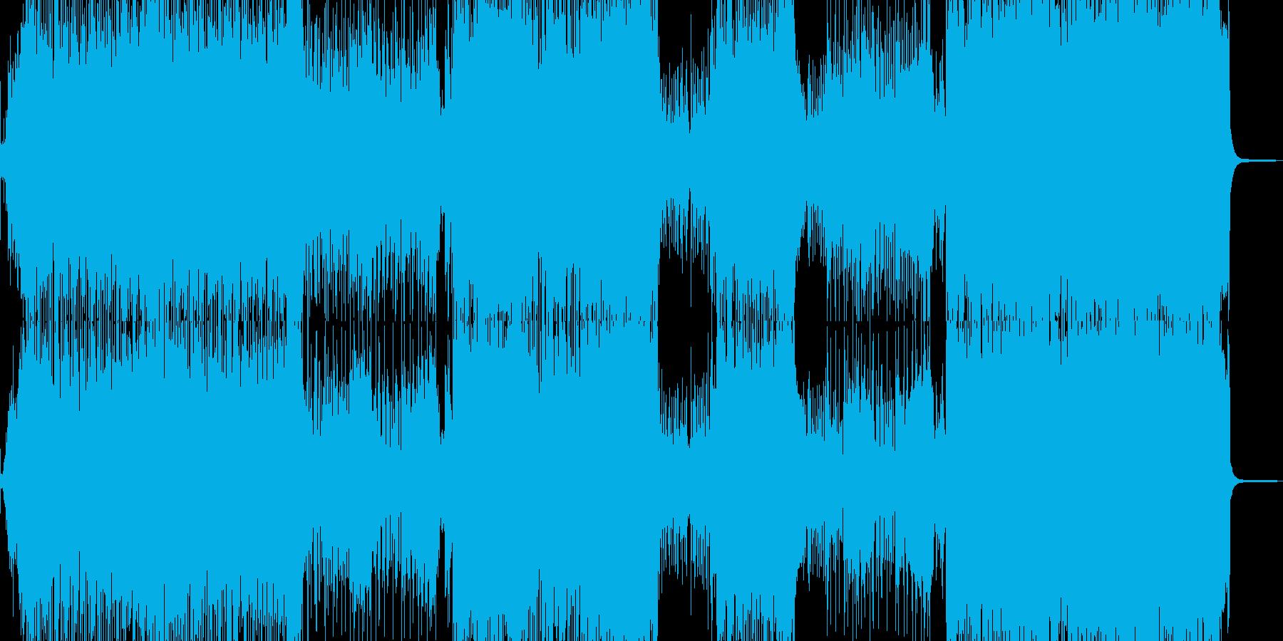 琴・尺八・全速力な演歌調ロックの再生済みの波形