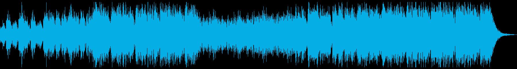 猛々しく雄雄しいBGMの再生済みの波形