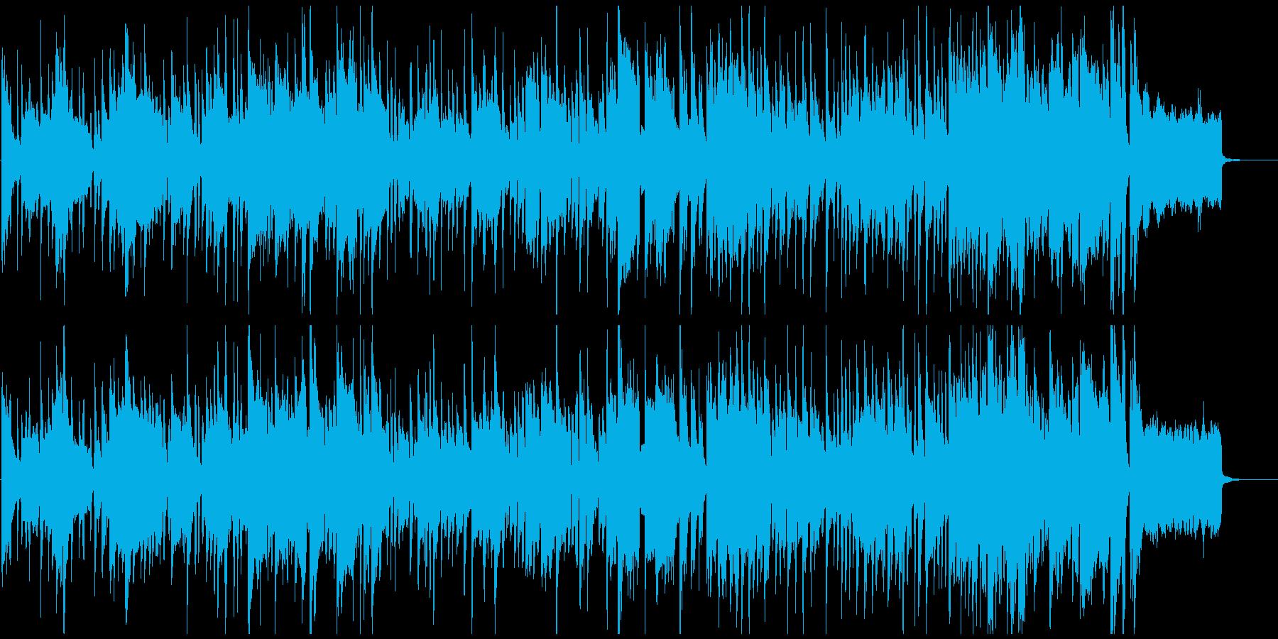 気だるいリコーダーの脱力ブルース、ゆるいの再生済みの波形