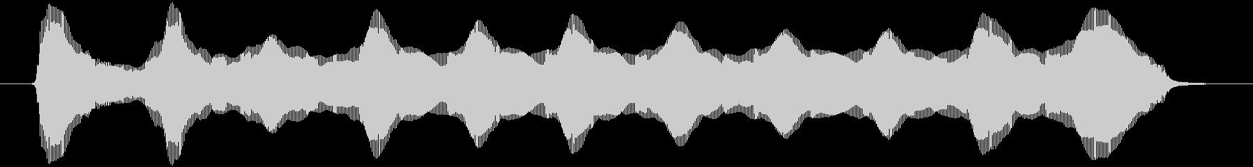 ロングプラスチックブローホーン:ス...の未再生の波形