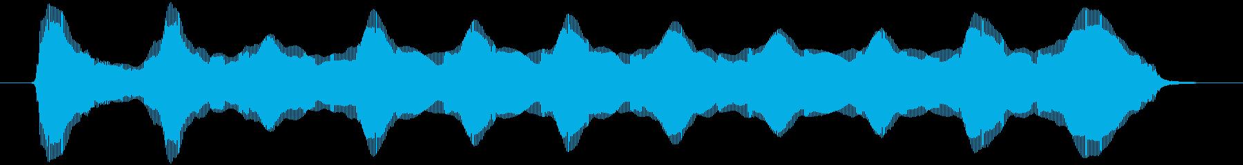 ロングプラスチックブローホーン:ス...の再生済みの波形