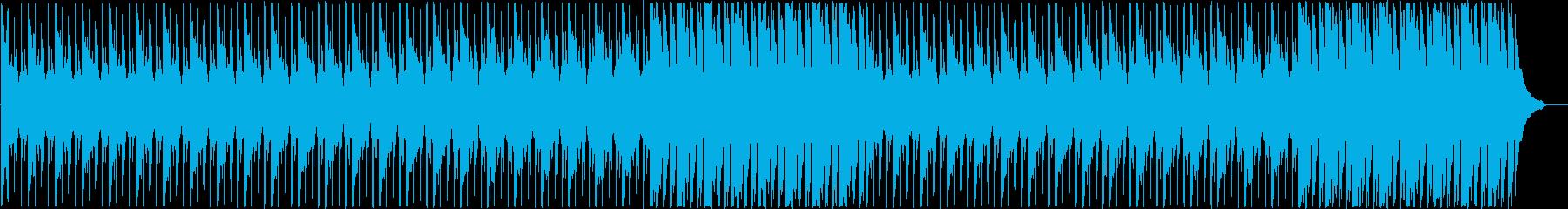 企業VPに わくわく・明るいピアノメインの再生済みの波形