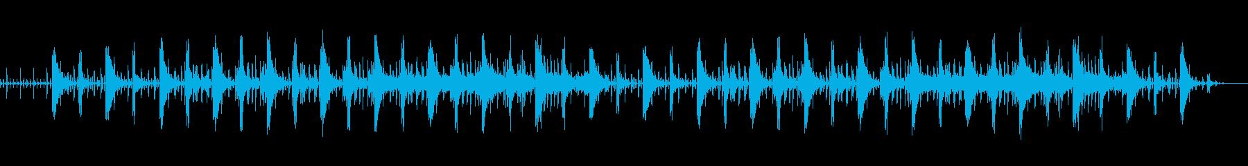 怪しい雰囲気のゲームBGMの再生済みの波形