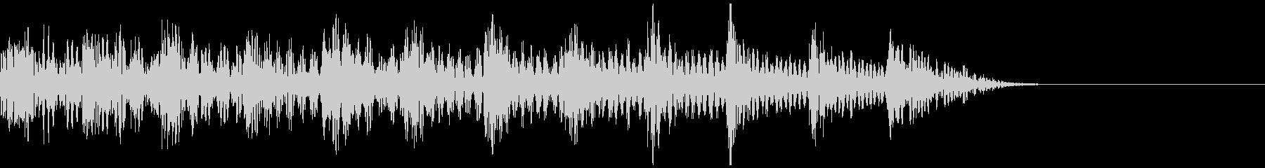 テレビ番組・動画テロップ・汎用UI音rの未再生の波形