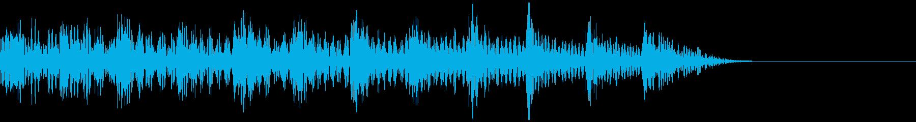 テレビ番組・動画テロップ・汎用UI音rの再生済みの波形