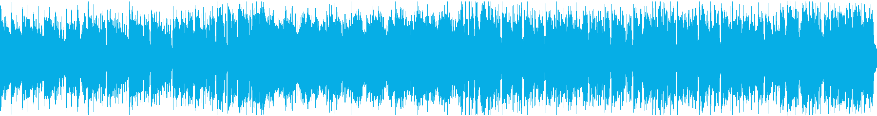 さわやかなケルト曲・ループの再生済みの波形