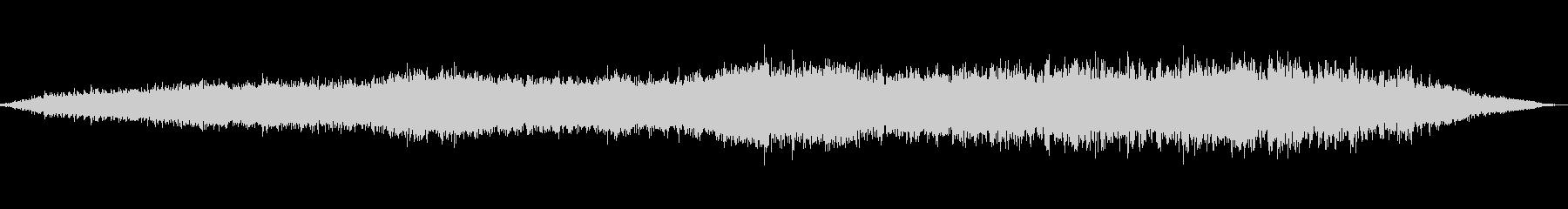 きらめく低音の進化する新しい世界の未再生の波形