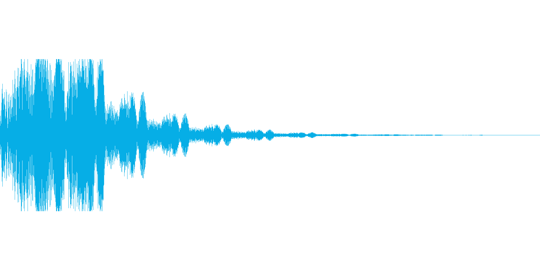 セレクト音の再生済みの波形