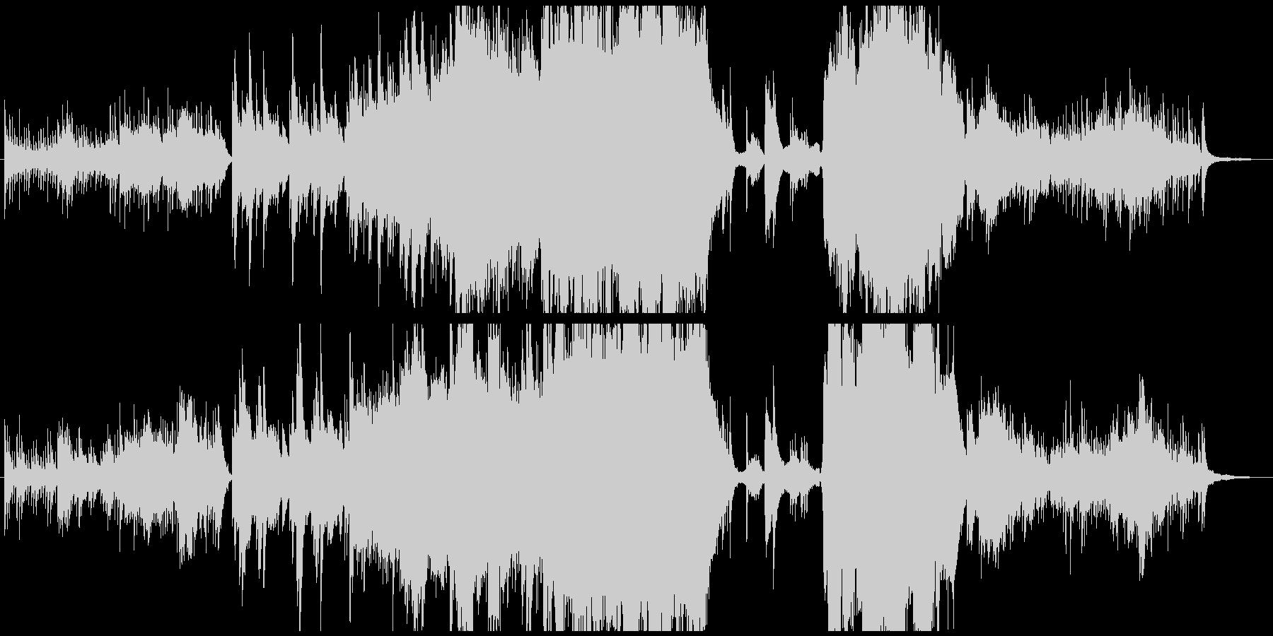 優しい・透明感・ピアノ・ストリングスの未再生の波形