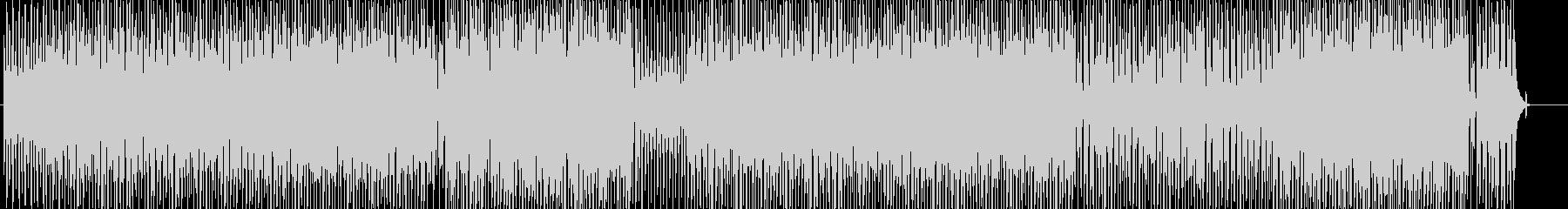 アコースティックな明るいウクレレと口笛の未再生の波形