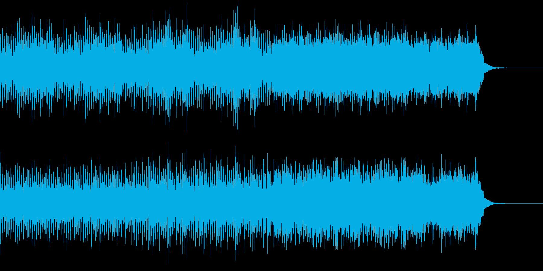ハッピーなピアノハウスの再生済みの波形