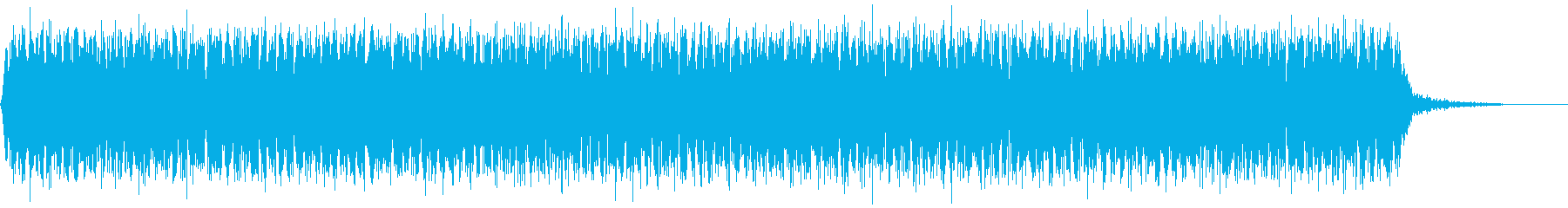 【アンビエント】ドローン_32 実験音の再生済みの波形