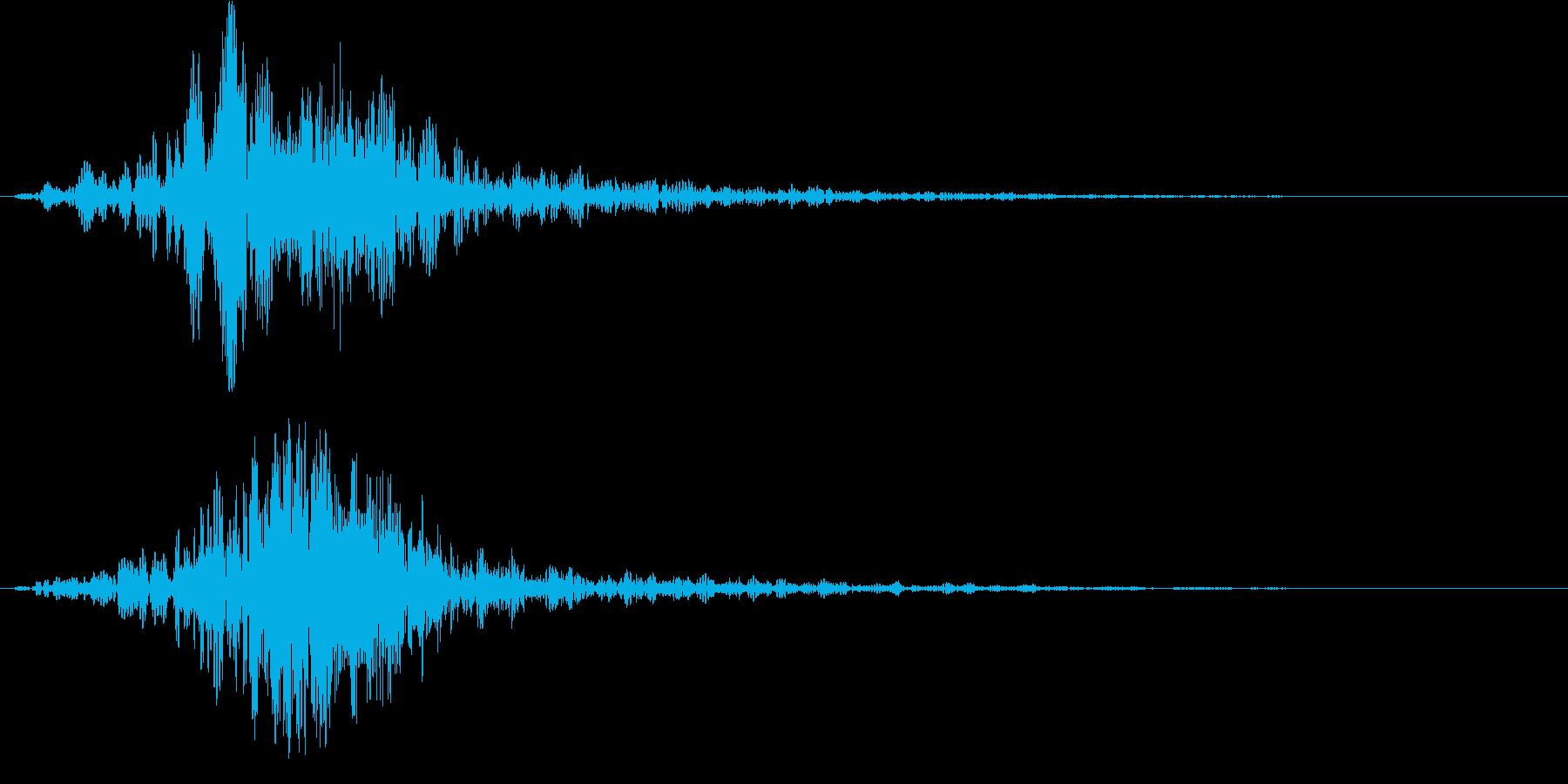 シネマティック/カットイン/サウンドロゴの再生済みの波形