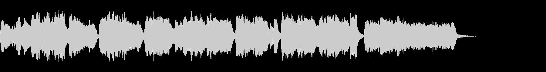 シンプルなオープニングファンファーレ2の未再生の波形