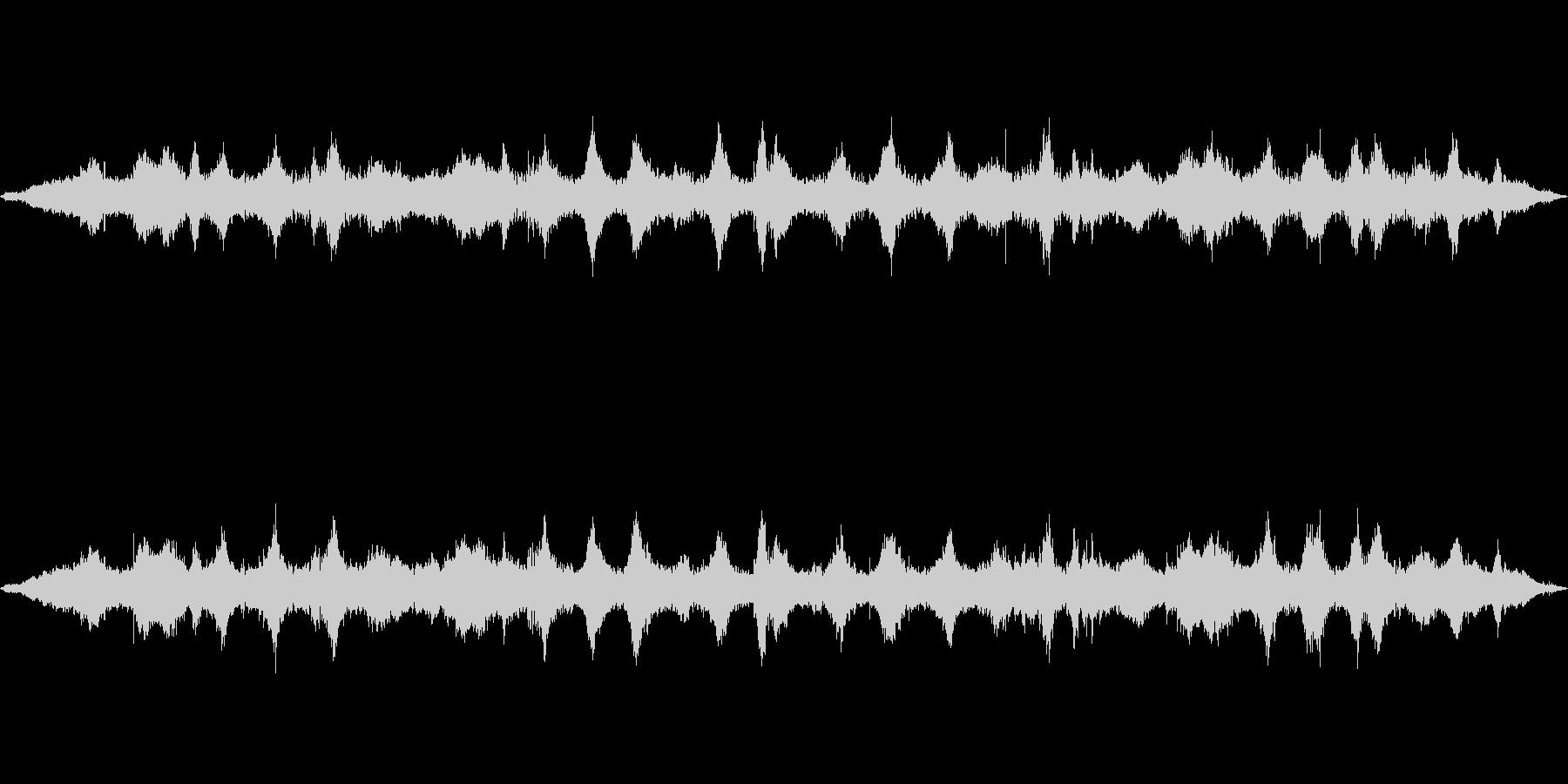 海 波 浜辺 海岸 カモメの環境音 22の未再生の波形