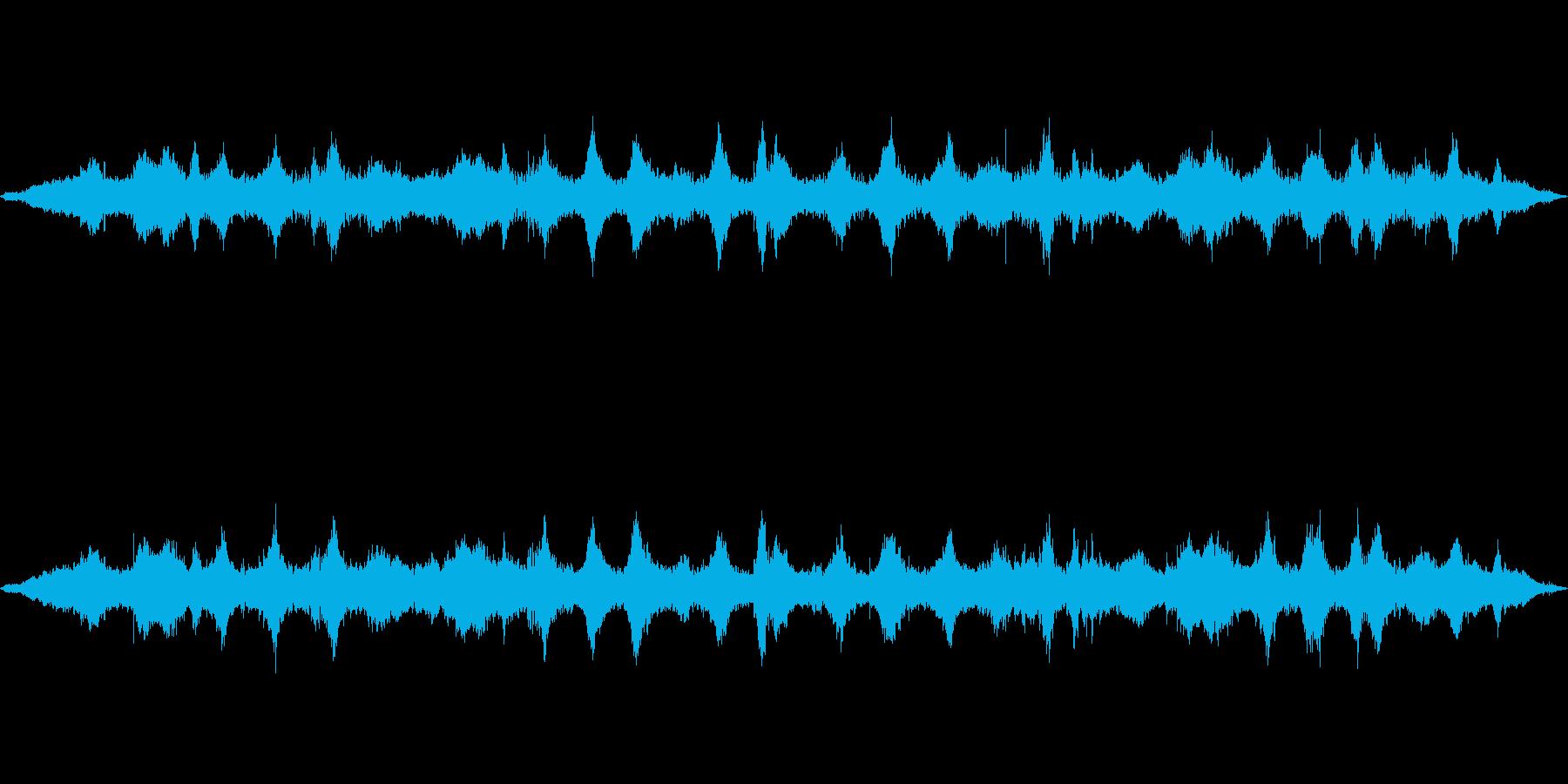 海 波 浜辺 海岸 カモメの環境音 22の再生済みの波形
