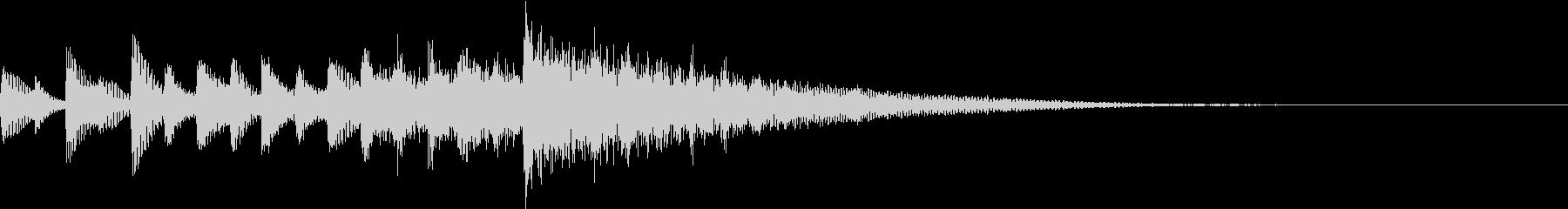 エレクトロニカ系サウンドロゴ/ジングルの未再生の波形