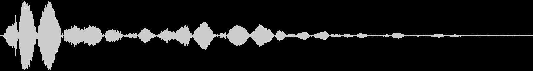 ヒットヒットインパクト16の未再生の波形