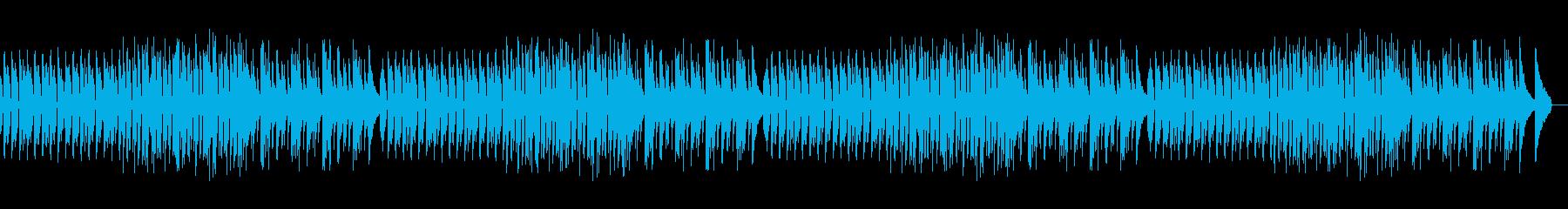 楽しくてワクワクするピアノソロの再生済みの波形