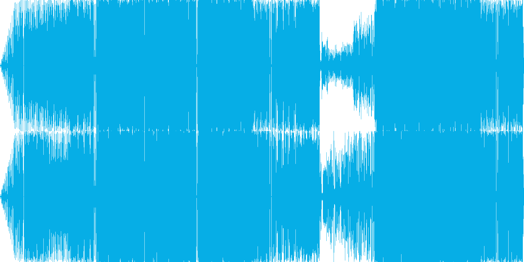 日記ダイアリをテーマにした超ポップソングの再生済みの波形