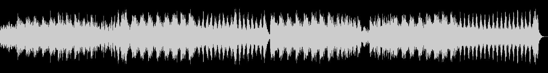 フェルトピアノを使ったネオクラシカルの未再生の波形