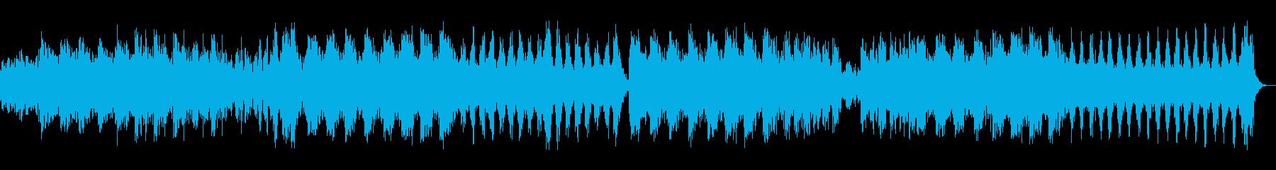 フェルトピアノを使ったネオクラシカルの再生済みの波形