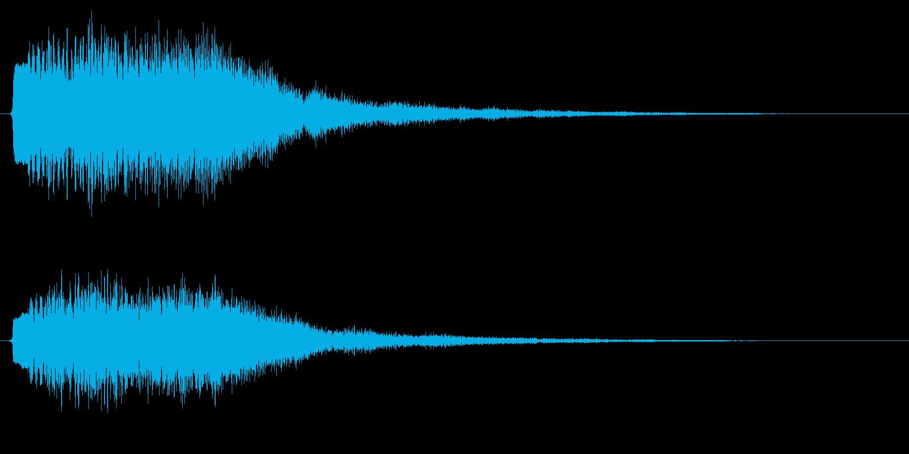 場面転換/ピアノ/絵本の再生済みの波形