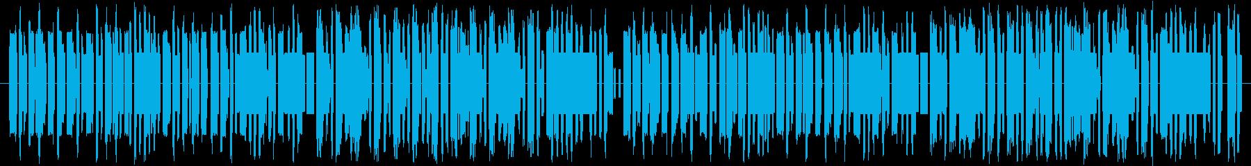 軽快でかっこいい感じの8bit和風の再生済みの波形