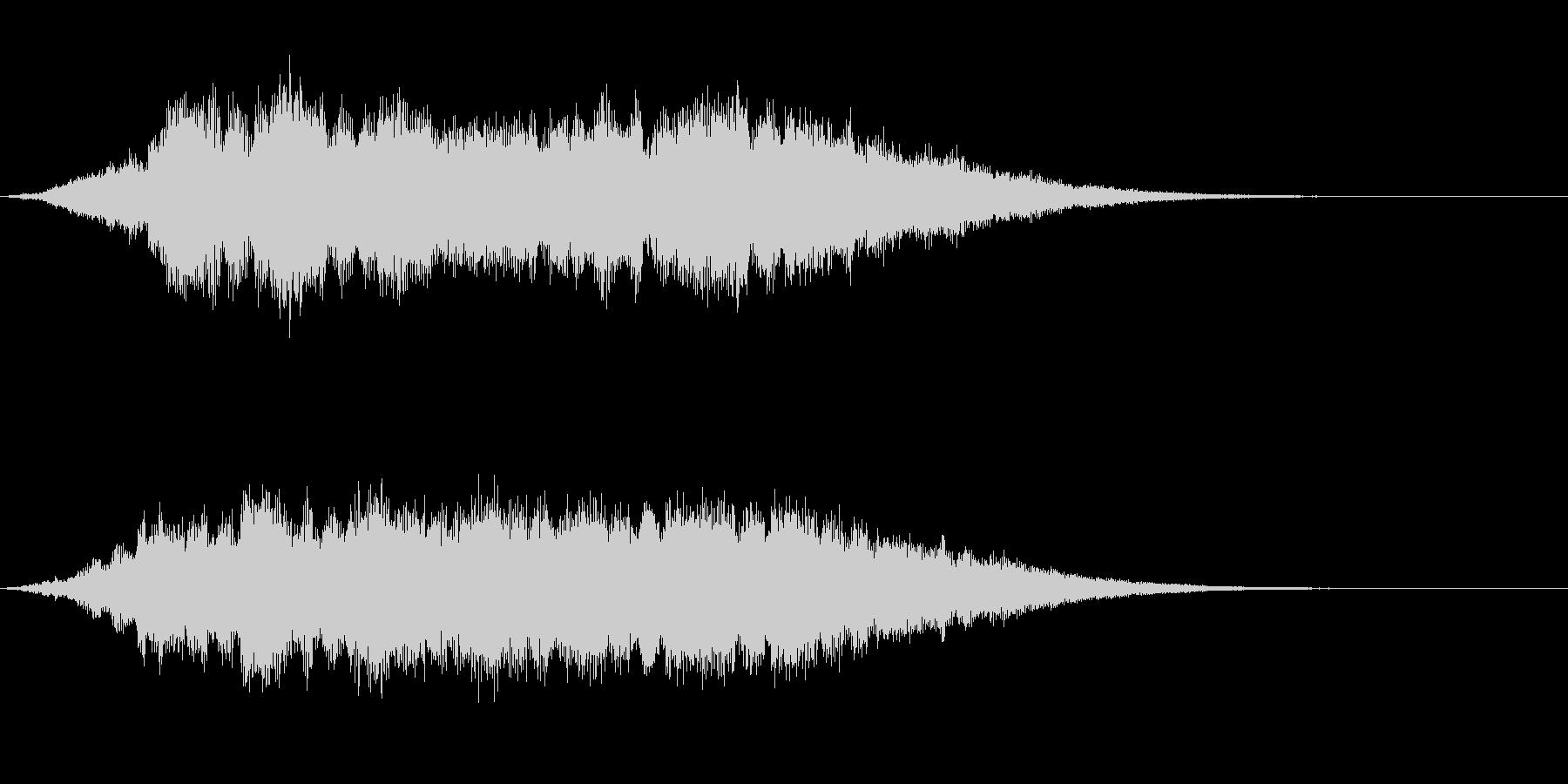 起動音 8の未再生の波形