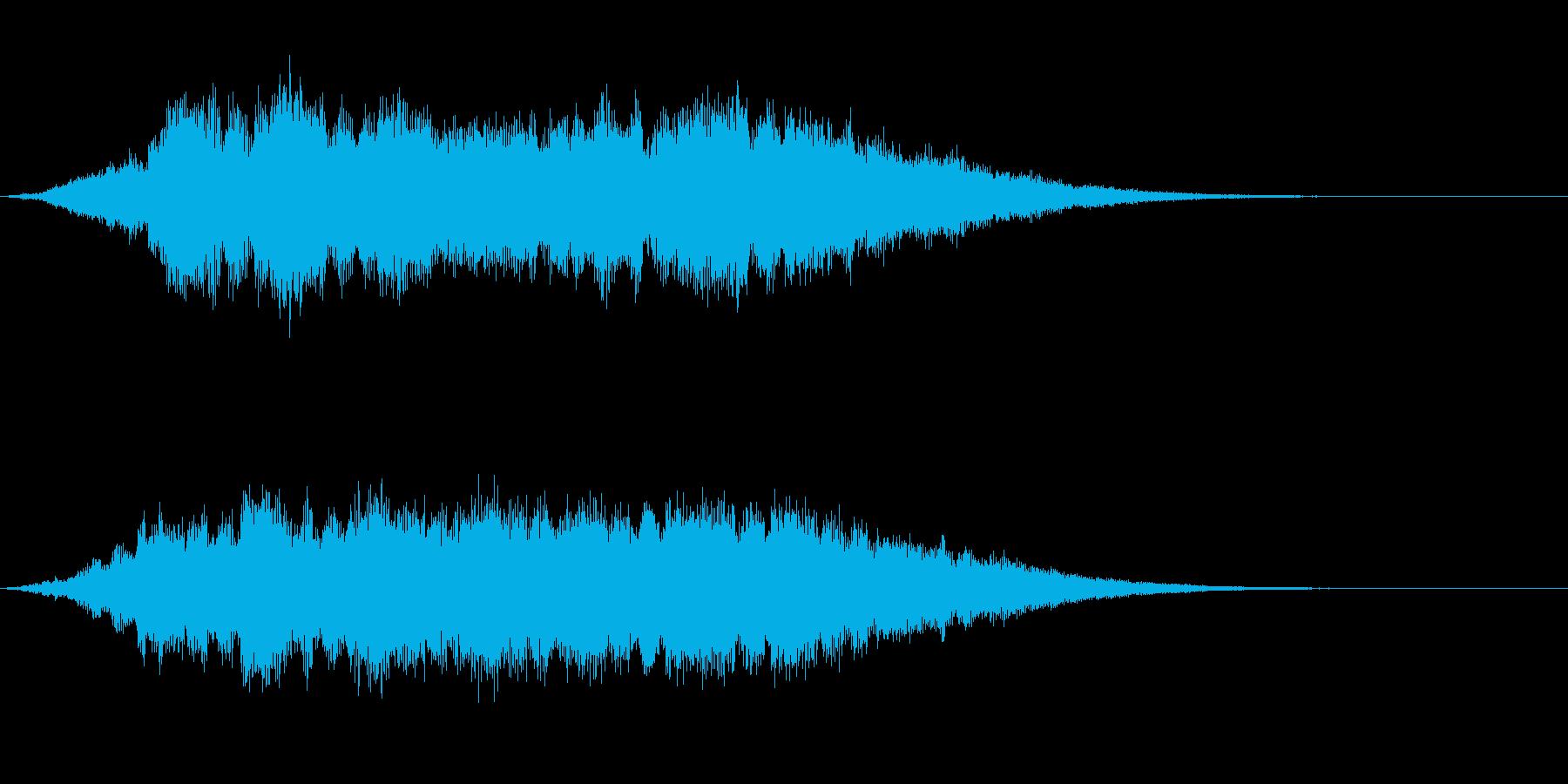起動音 8の再生済みの波形