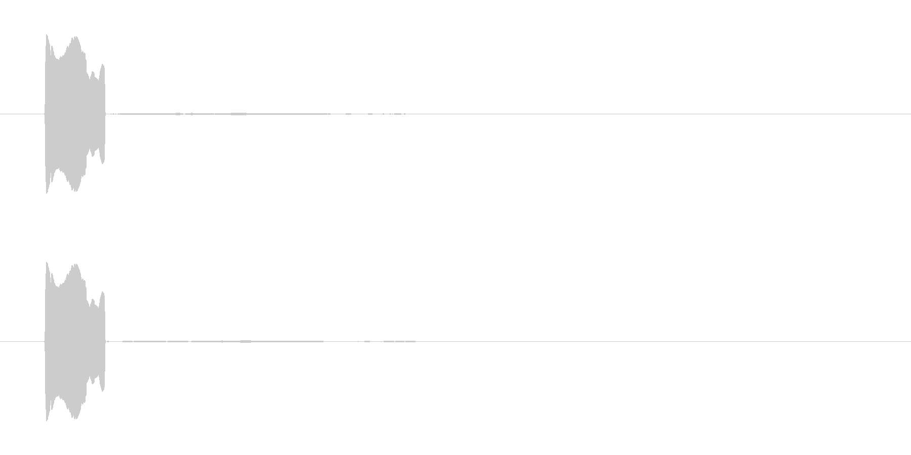 ピッ(マップ移動・目的地・位置表示操作)の未再生の波形