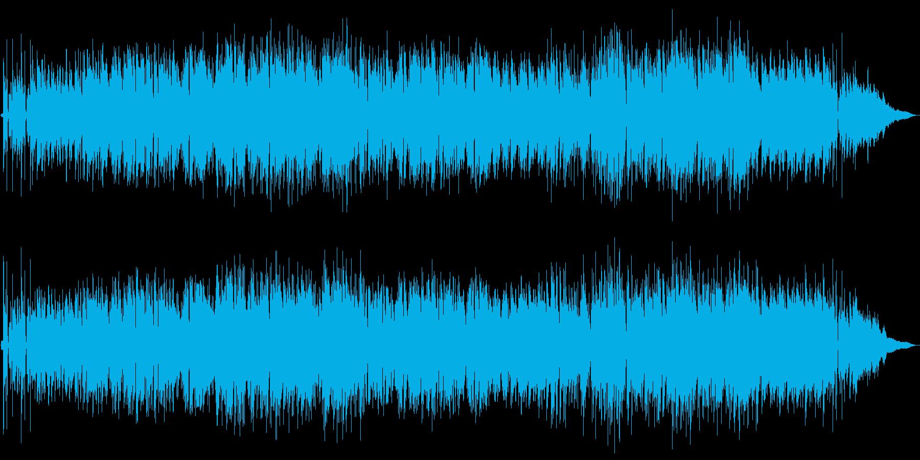 TVショッピング風 爽やかなOP曲の再生済みの波形