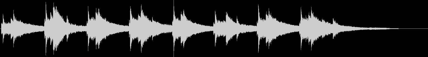 ジングル - リフレッシュの未再生の波形