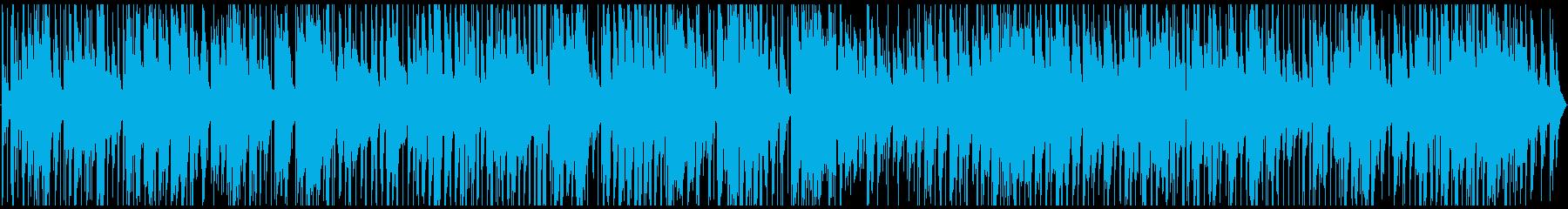 甘いスロージャズの再生済みの波形