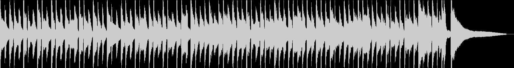6/8拍子 シンプルで短いBGMの未再生の波形