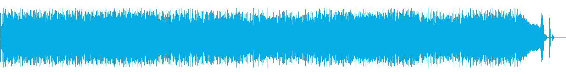 オーディオドラマ向けBGM/スカパンクの再生済みの波形