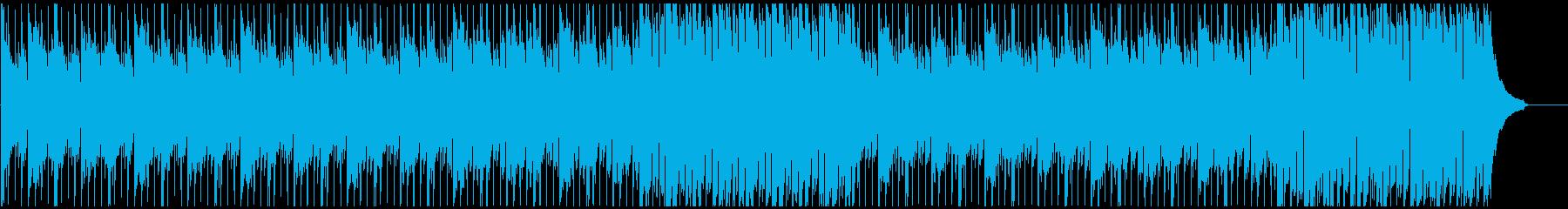 企業VPに わくわくで疾走感のある楽曲の再生済みの波形