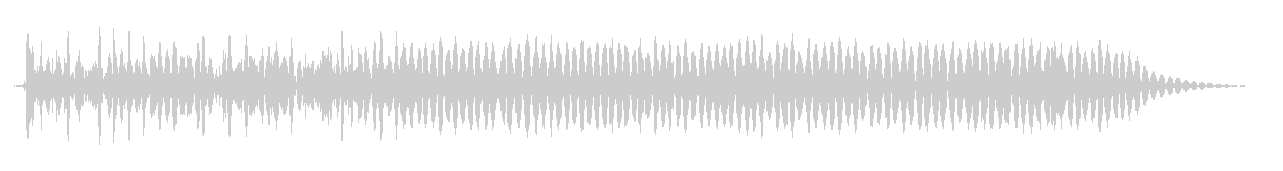 悪魔のような音声3の未再生の波形