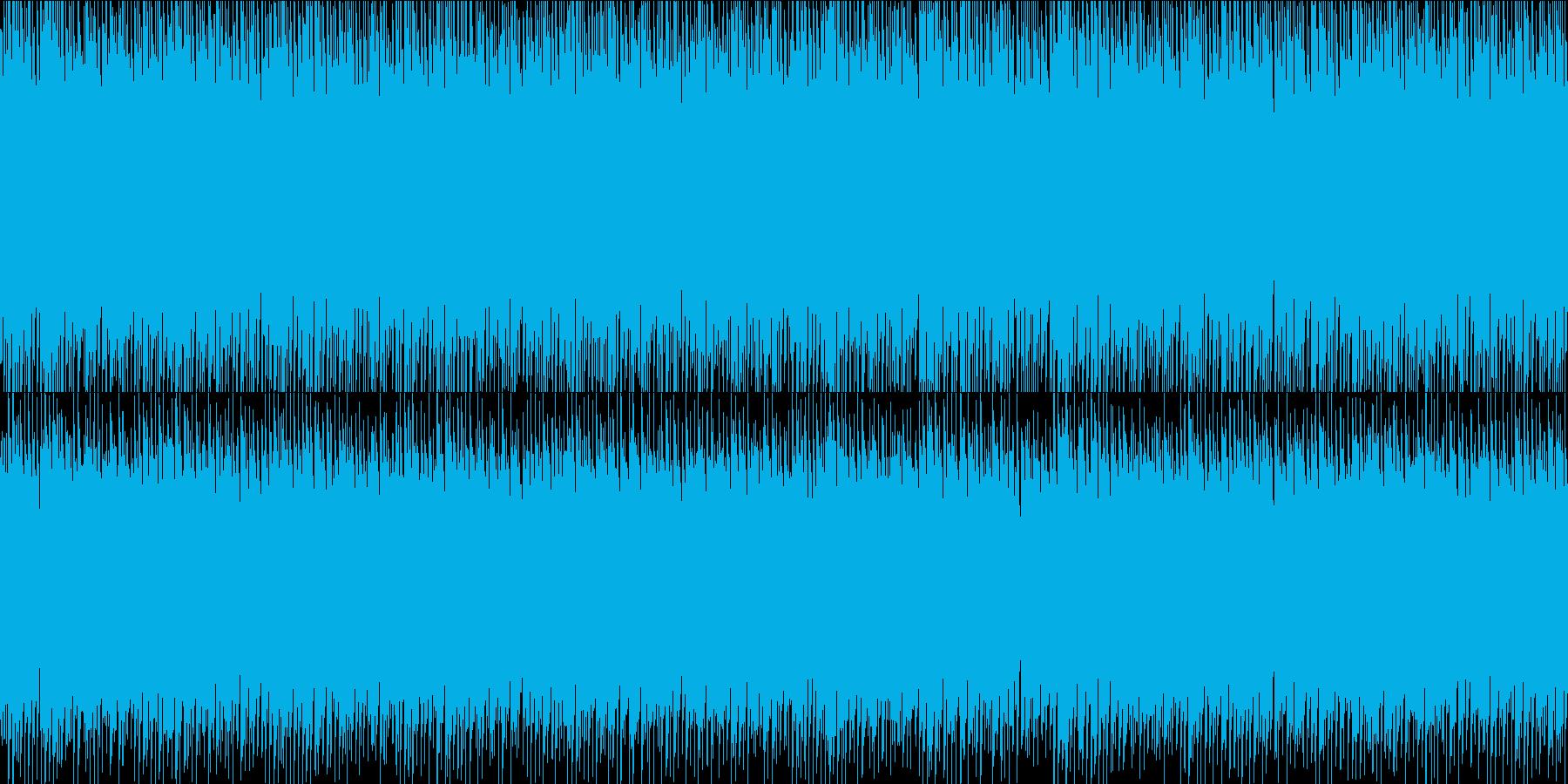 ピコピコゲームアミューズメント ドラム有の再生済みの波形