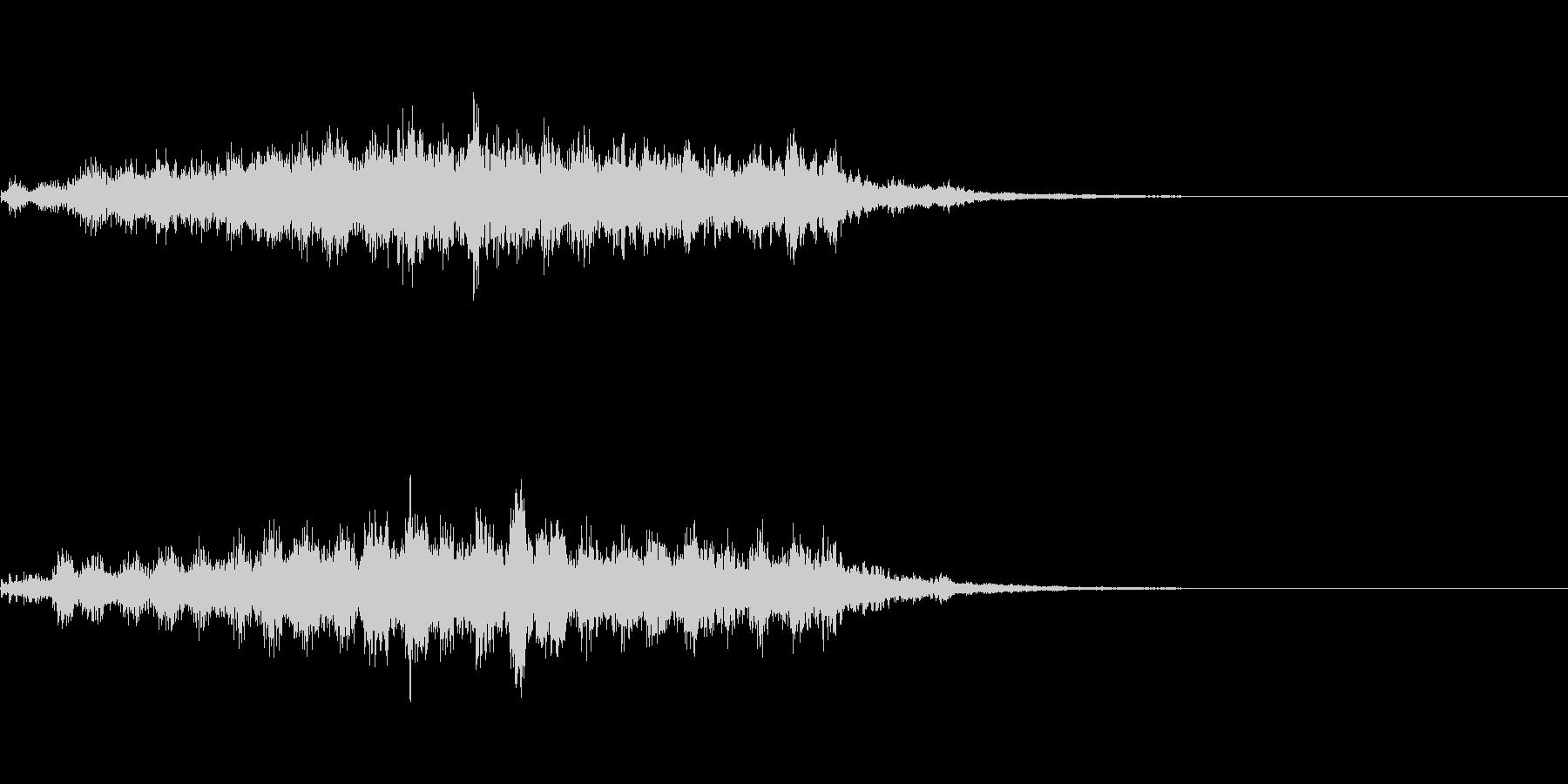 ホラー系導入音_その4の未再生の波形