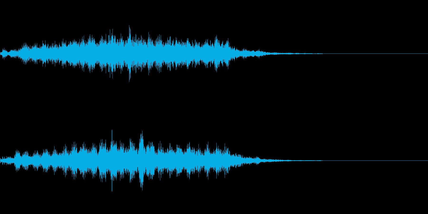 ホラー系導入音_その4の再生済みの波形