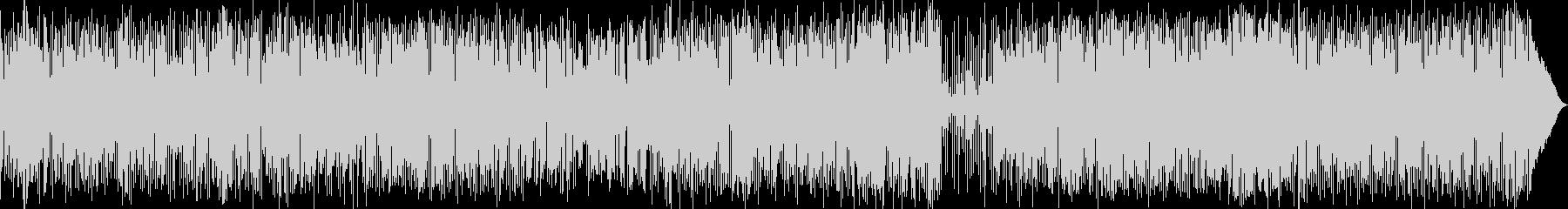 疾走感溢れるボサノバ・ロックの未再生の波形