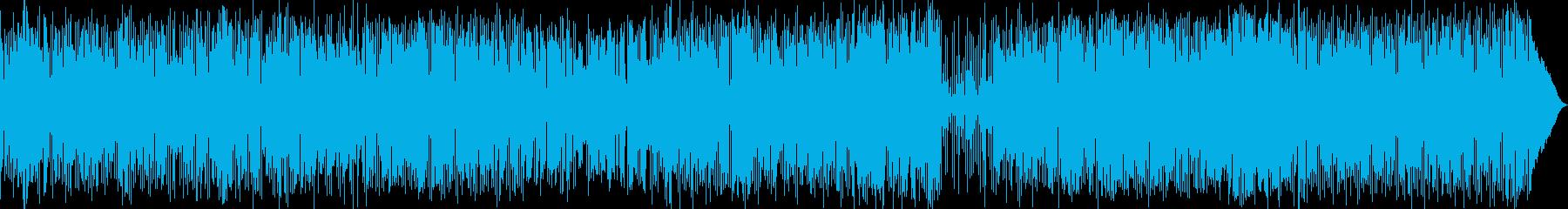 疾走感溢れるボサノバ・ロックの再生済みの波形