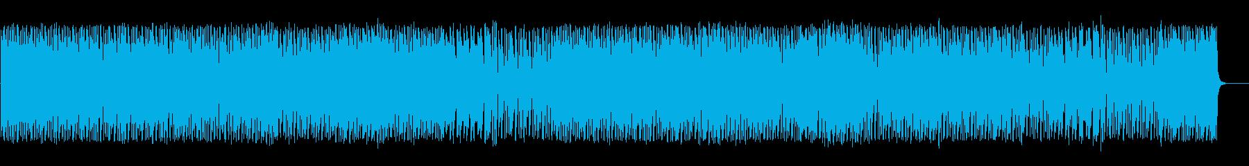 尺八と刺激的なリズムで和風ロックの再生済みの波形